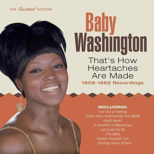 Baby Washington That's How Heartaches Are Made Import Esp