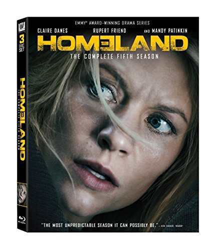 Homeland Season 5 Blu Ray Nr