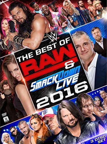 Wwe Best Of Raw & Smackdown 2016 DVD