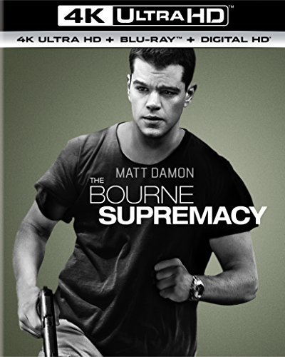 Bourne Supremacy Damon Potente Stiles 4k Pg13