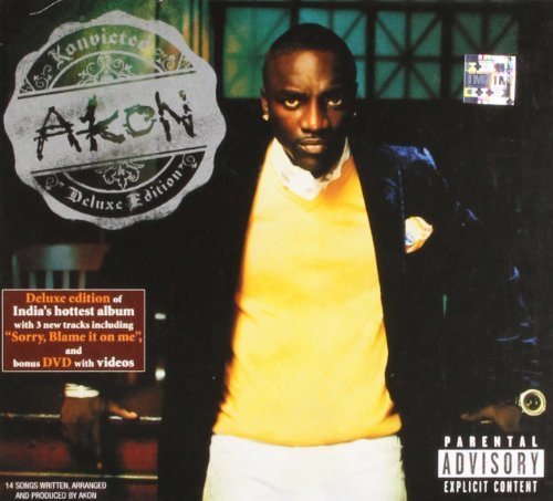 Akon Konvicted Explicit Version Deluxe Ed. Incl. Bonus DVD