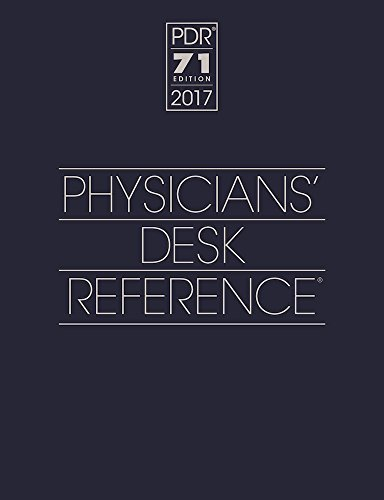 Physicians Desk Reference 2017 Physicians' Desk Reference 71st Edition (boxe