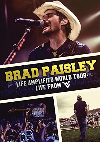Brad Paisley Life Amplified World Tour Live From Wvu DVD
