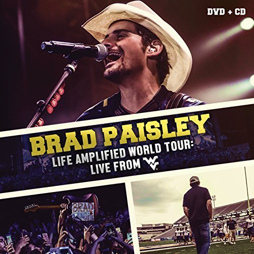 Brad Paisely Life Amplified World Tour Live From Wvu