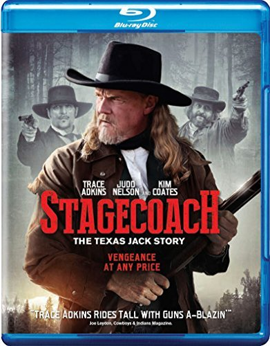 Stagecoach The Texas Jack Story Adkins Nelson Blu Ray Nr