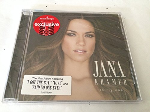 Jana Kramer Thirty One Cd+4 Bonus Tracks 2015 Target Exclusive