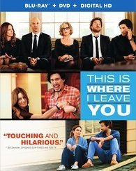 Jason Bateman Tina Fey Adam Driver Rose Byrne Core This Is Where I Leave You (blu Ray+dvd+ultraviolet