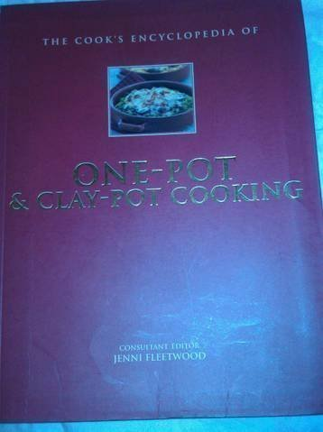 Fleetwood Jenni Editor Cook's Encyclopedia Of One Pot & Clay Pot Cooking
