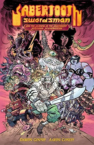 Damon Gentry Sabertooth Swordsman Volume 1 (second Edition)