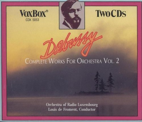 C. Debussy Vol. 2 Works For Orchestra Com