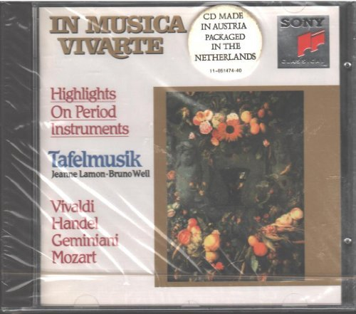 Tafelmusik Highlights On Period Instrumen Lamon & Weil Tafelmusik