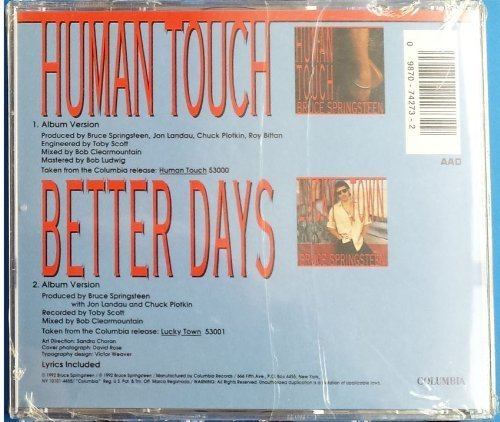 Bruce Springsteen Human Touch Better Days