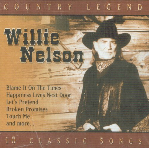 Nelson Willie Willie Nelson Country Legend