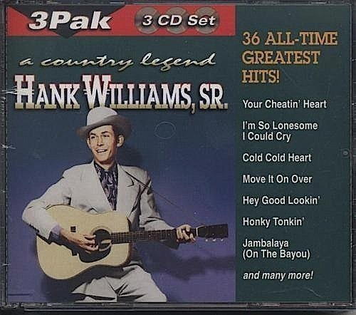 Hank Sr Williams Country Legend