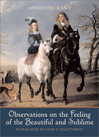 Immanuel Kant Observations On The Feeling Of The Beautiful And S 0002 Edition;