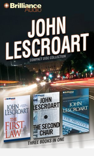 John Lescroart John Lescroart CD Collection The First Law The Second Chair The Motive