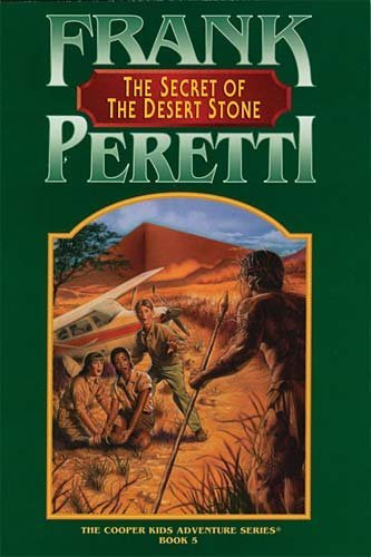 Frank Peretti Secret Of The Desert Stone (the Cooper Kids Ad
