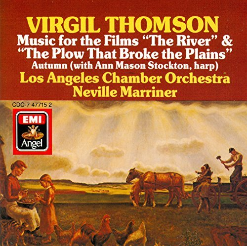 "V. Thomson Music For The Films ""the River"" & Marriner Neville"