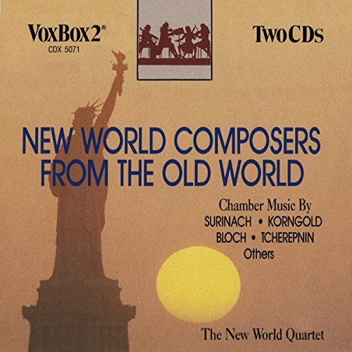 New World Quartet New World Composers From The O
