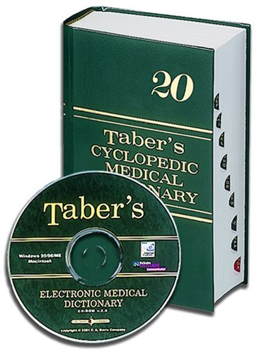 Taber's Taber's Cyclopedic Medical Dictionary (indexed) &