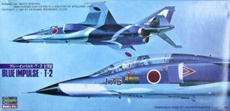 Blue Impulse T 2 Jasdf Aerobatic Team Model Kit