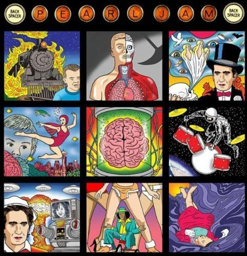 Pearl Jam Backspacer Limited Import Can