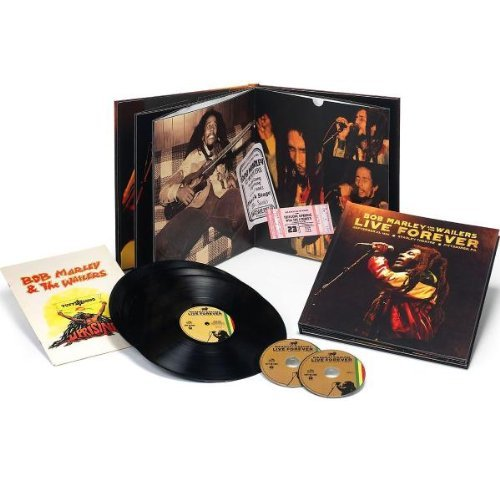 Bob Marley & The Wailers Live Forever The Stanley Thea Super Deluxe Ed. 2 CD 3 Lp