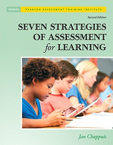 Jan Chappuis Seven Strategies Of Assessment For Learning [with 0002 Edition;