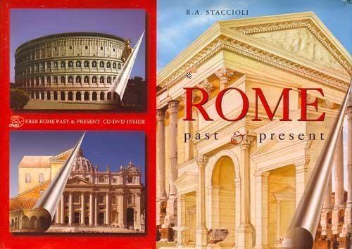 R.A. Staccioli Ancient Rome Past & Present Guide With Reconstru