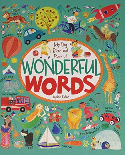 Sophie Fatus My Big Barefoot Book Of Wonderful Words