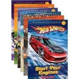 Ace Landers Start Your Engines (hot Wheels Scholastic Reader