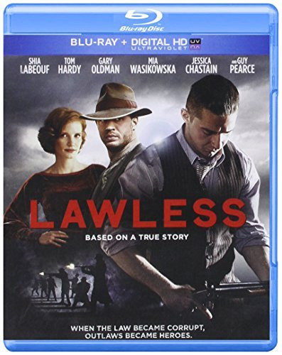 Lawless Lebouf Hardy Oldman Pearce Blu Ray R