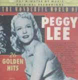 Peggy Lee The Wonderful World Of Peggy Lee