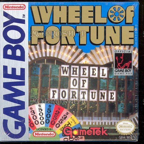 Gameboy Wheel Of Fortune
