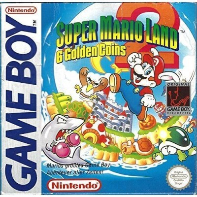 Gameboy Super Mario Land 2