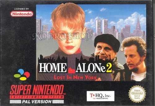 Super Nintendo Home Alone 2 Lost In New York