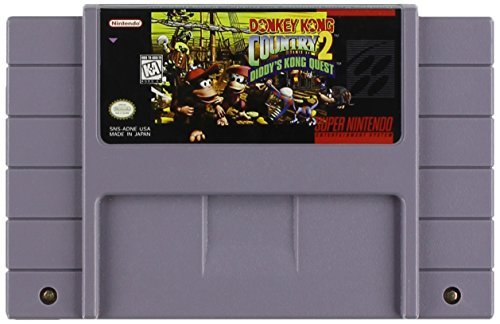 Super Nintendo Donkey Kong Country 2