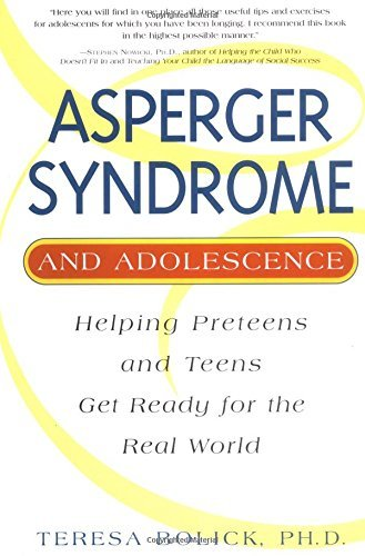 Teresa Bolick Asperger Syndrome And Adolescence Asperger Syndrome And Adolescence