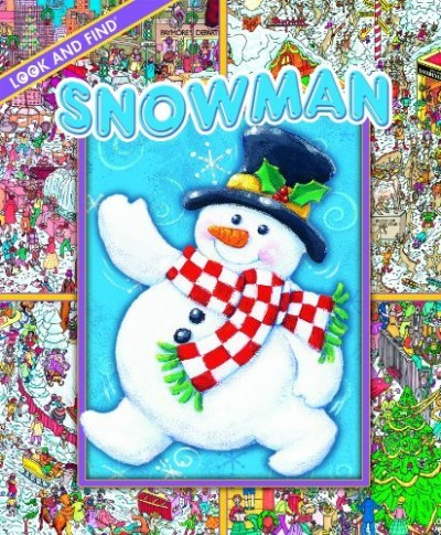 Editors Of Publications International Ltd. Look And Find Christmas Snowman