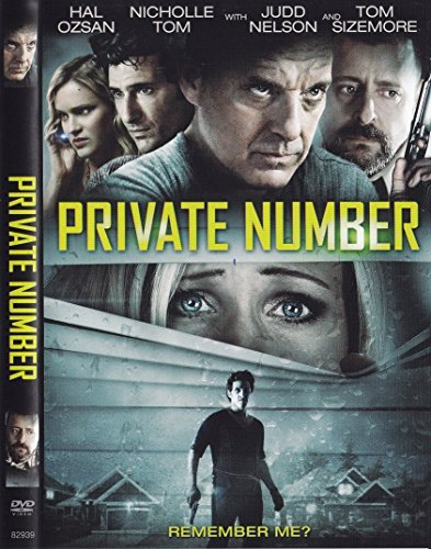 Private Number Ozan Tom Nelson Sizemore DVD R