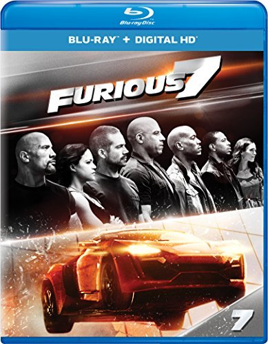 Fast & The Furious Furious 7 Blu Ray Pg13