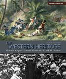 Frank M. Turner The Western Heritage Volume C Since 1789 0010 Edition;