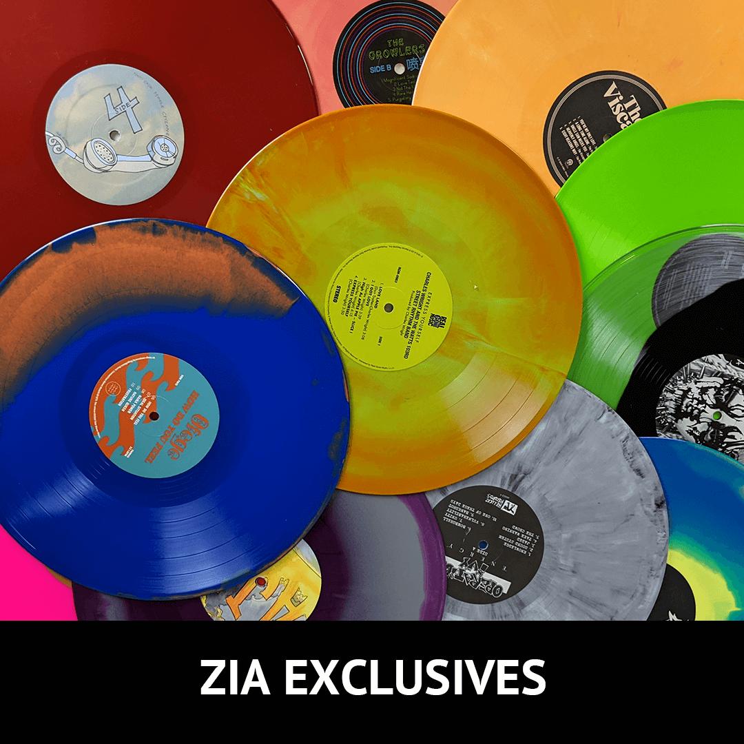 zia vinyl exclusives