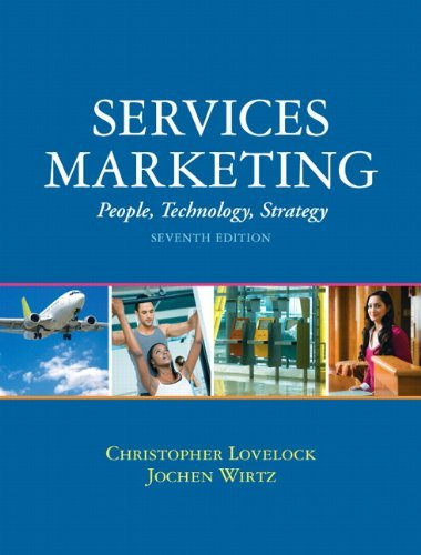 Christopher H. Lovelock Services Marketing People Technology Strategy 0007 Edition;