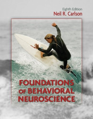 Neil R. Carlson Foundations Of Behavioral Neuroscience 0008 Edition;