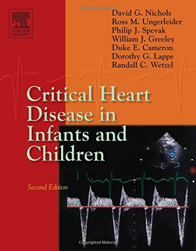 Ross M. Ungerleider Critical Heart Disease In Infants And Children 0002 Edition;