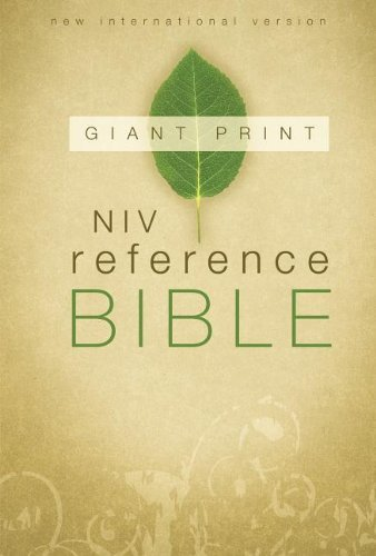 Zondervan Reference Bible Niv Giant Print Large Print