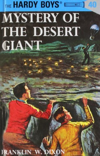 Franklin W. Dixon Mystery Of The Desert Giant