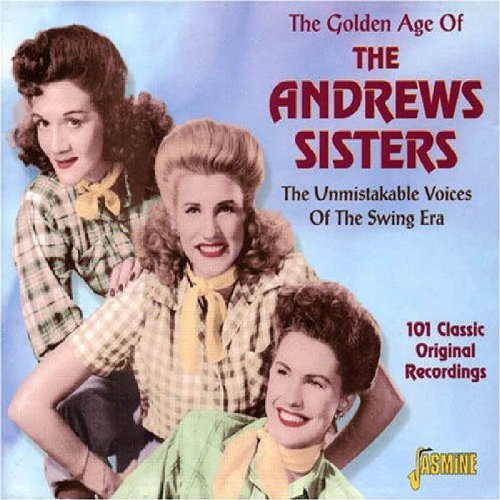 Andrews Sisters Golden Age Of The Andrews Sist Import Gbr 4 CD Set