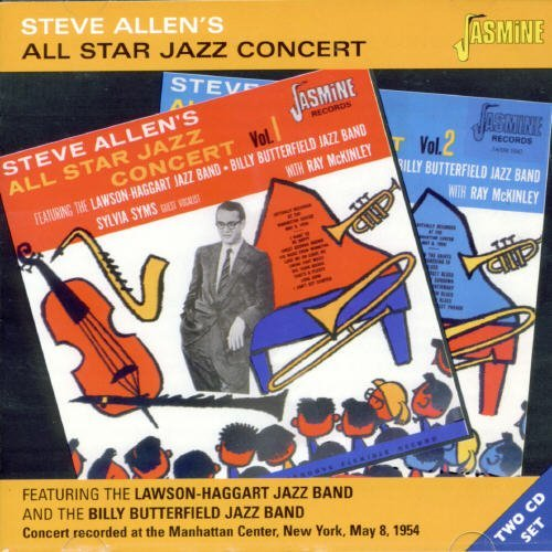 Steve Allen All Star Jazz Concert 2 CD Set